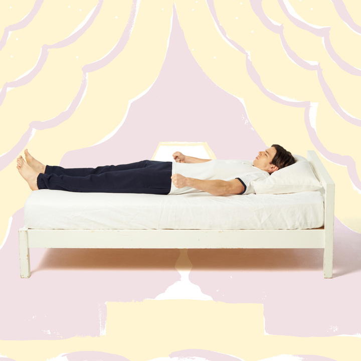 就寝直前にできる筋弛緩法