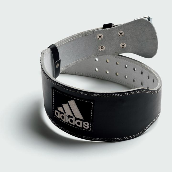 レザーウエイトリフティングベルト(adidas)