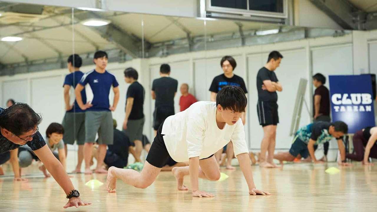 「多方向にいかに動けるか。筋肉や関節は使わなければ退化する一方です!」(菅原さん)