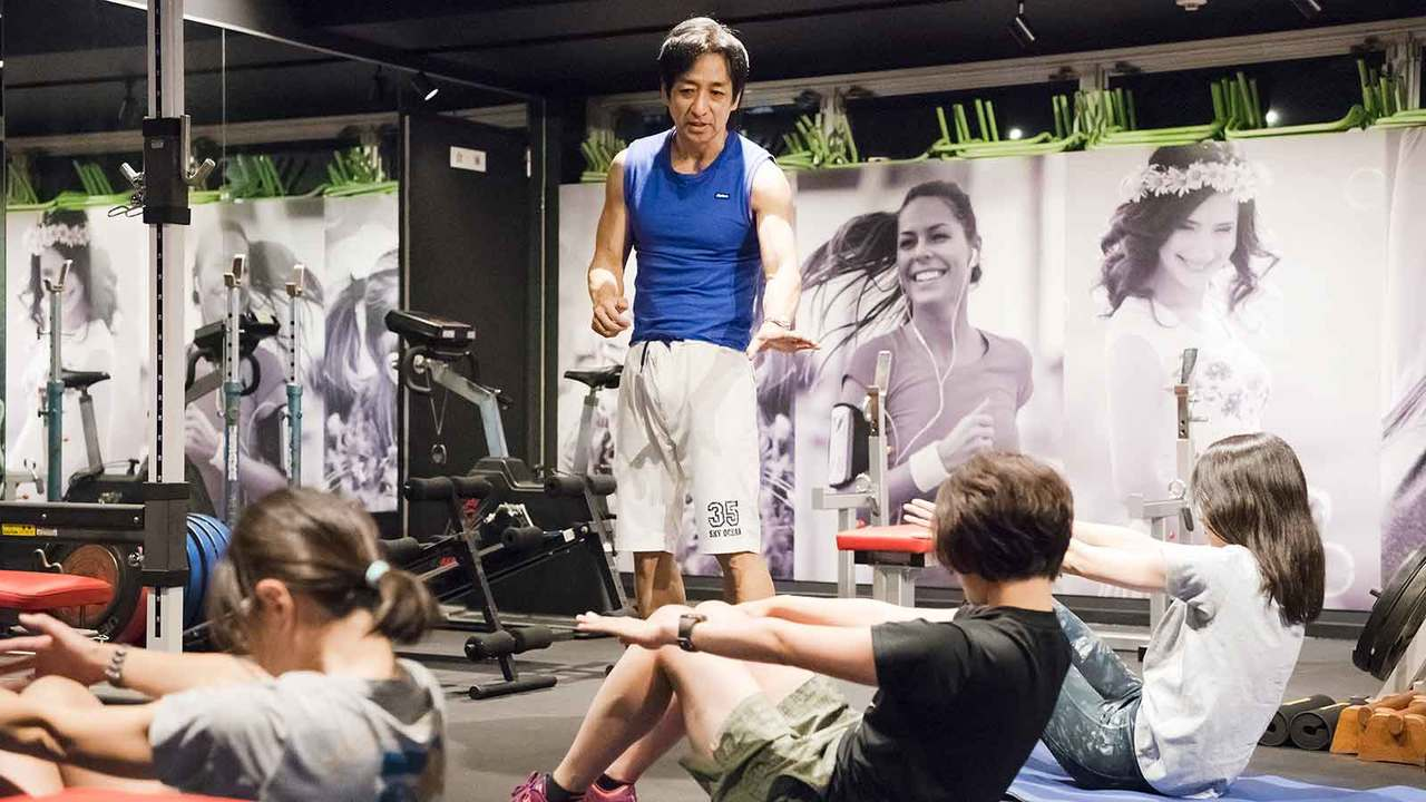 クラブターザン坂詰真二さんによるパーソナルトレーニングイベント