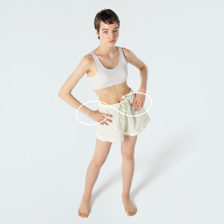 骨盤と股関節の動的ストレッチ