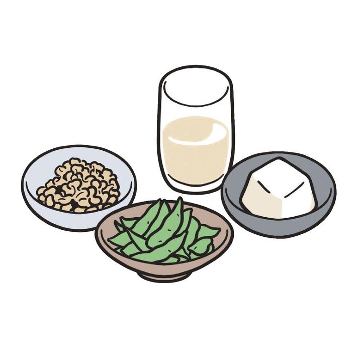 日本人の1日当たりの豆類摂取量は目標値を大きく下回る