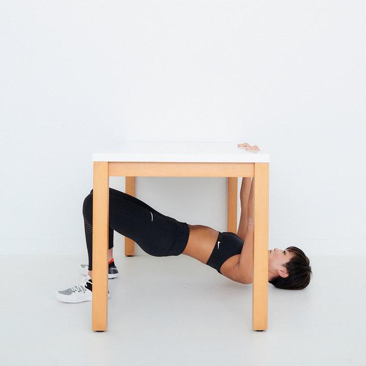 テーブルロウのやり方その1