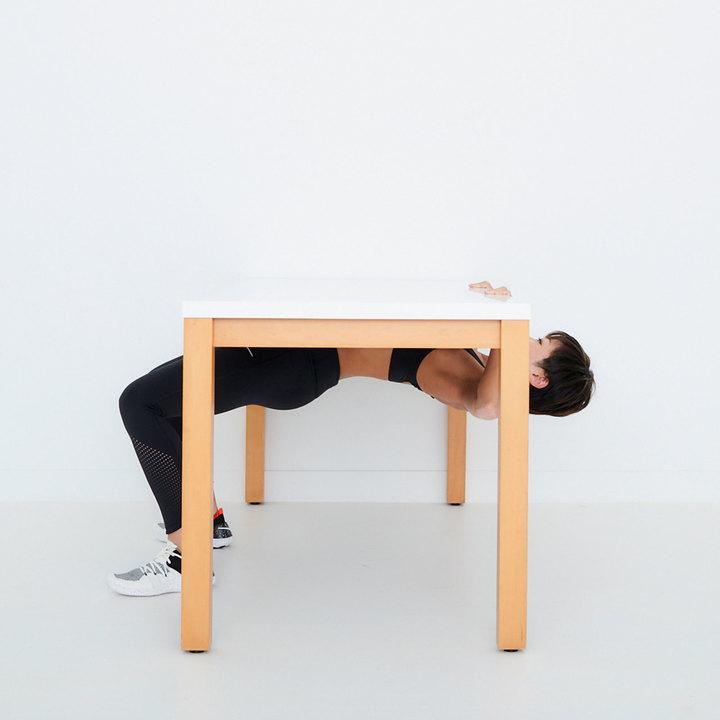 テーブルロウのやり方その2