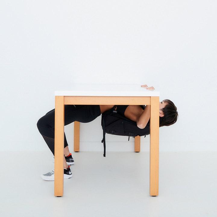 テーブルロウ with リュックのやり方その2