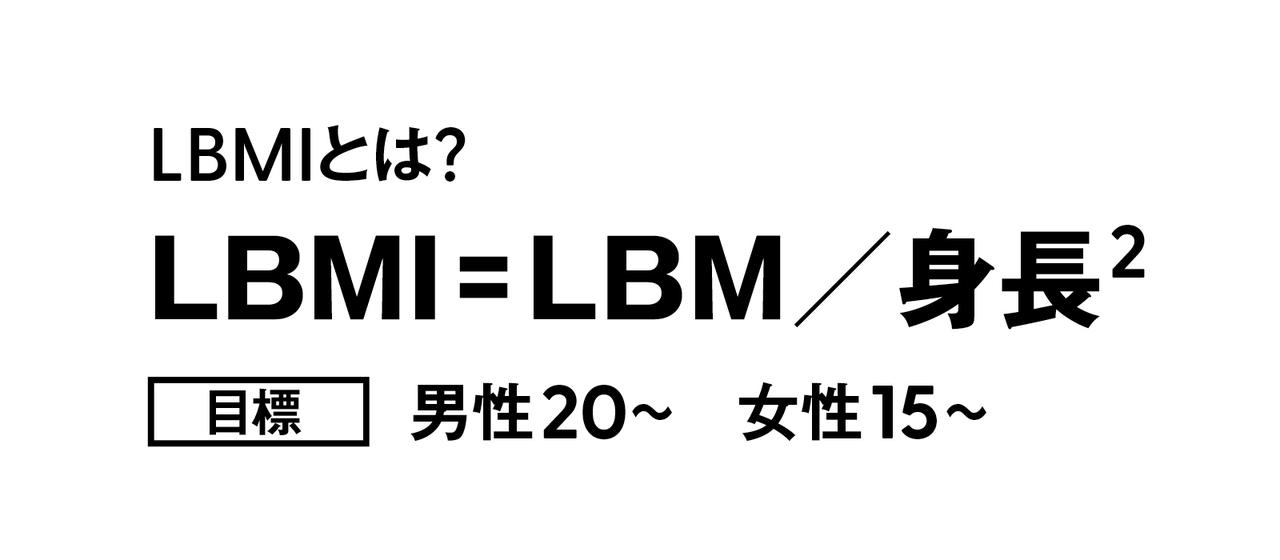 LBMIとは
